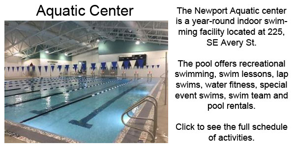 City of newport or parks recreation for Newport swimming pool schedule