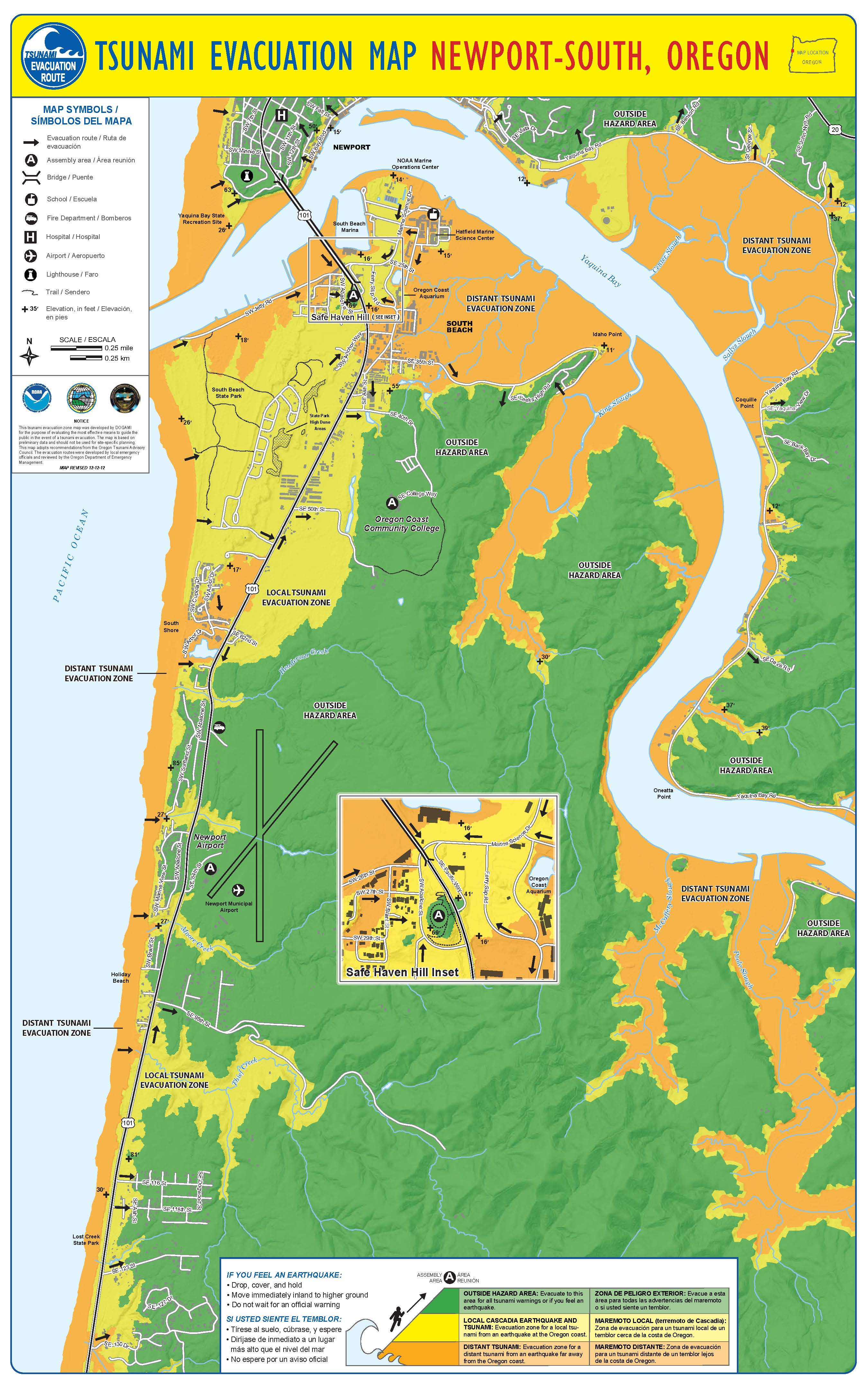 City of Newport, OR :: Emergency Information