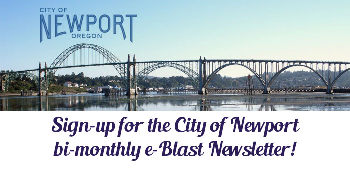 Sign up for the City of Newport bi-monthly e-Blast Newsletter
