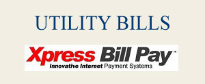 Utility Bill payments
