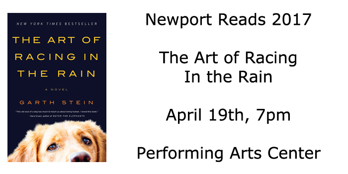 Newport Reads 2017 - Racing in the Rain