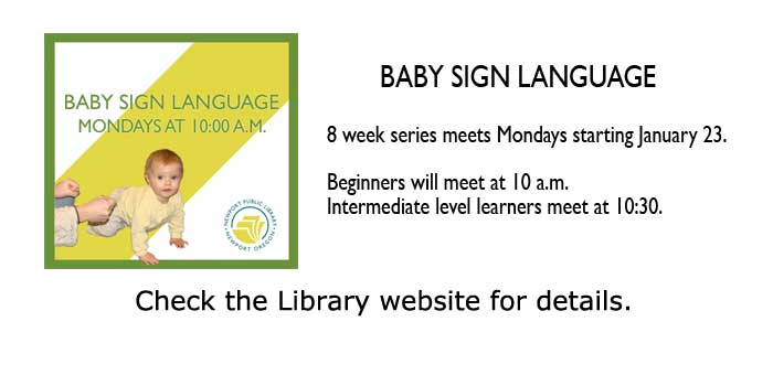 Baby Sign language at the Library